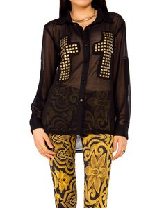 Cross My Heart Button Up - 2020AVE OMG WANT