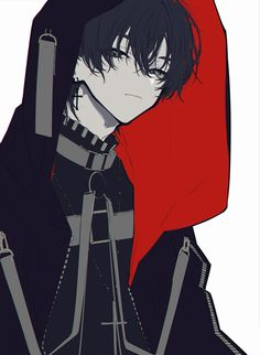 Anime Oc, Anime Chibi, Kawaii Anime, Dark Anime Guys, Cool Anime Guys, Handsome Anime Guys, Cute Anime Boy, Anime Boy Hair, Cute Anime Character