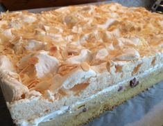 Wolkenschnitte Trifle, Vanilla Cake, Pie, Desserts, Food, Drinks, Cooking Recipes, Biscuit, Sheet Cakes