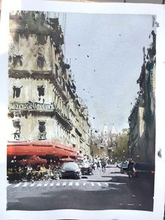 Jospeh Zbukvic, Paris