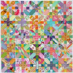 Love the colors in this quilt.