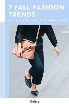 We've turned to some of L.A.'s It Girls to find out which fashion trends are on the rise in 2020—and how to nail the look. #fall #fashion #trends