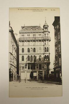 Hotel Royal on Kaernthner Street , Vienna, Austria, EUR, 1890, Alexander von Wieleman