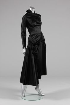 Jacques Fath, Satin a Dinner Dress, late 1940's, early 1950's