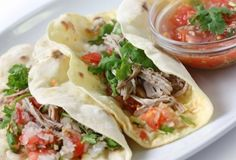 Crockpot Carnitas - tender, delicious, and healthy