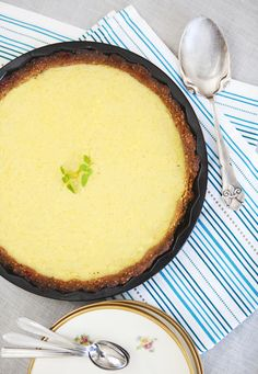 Lemon Tart - How do you bake a lemon tart without adding sugar, wheat flour or butter? We have been asking ourselves that question the last couple of weeks. And after giving it a few tries, our answer is …