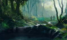 Forest concept (8/2009) by wwsketch on DeviantArt