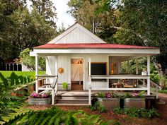 Peek Inside This Cheerful 260-Square-Foot Home  - CountryLiving.com