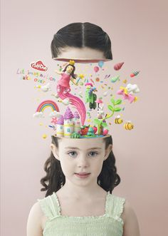 Play-Doh by Nemesis Pictures , via Behance