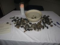 "Prayer Station: ""Forgive us our sins"""