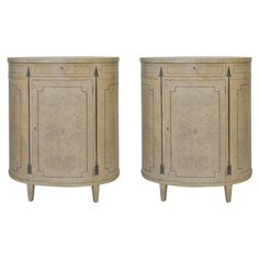 Pair of Unique Baker Cabinets   From a unique collection of antique and modern cabinets at https://www.1stdibs.com/furniture/storage-case-pieces/cabinets/