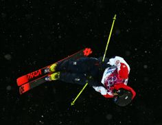 DAY 12:  Murray Buchan of Great Britain competes during the Freestyle Skiing Men's Halfpipe http://sports.yahoo.com/olympics