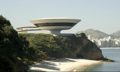 Museums where the building is the brand: Niterói Contemporary Art Museum, Brazil