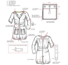 Techpacks are a crucial part of the fashion industry. Clothing Patterns, Sewing Patterns, Tech Pack, Student Fashion, Fashion Design Sketches, Fashion Portfolio, Technical Drawing, Pattern Drafting, Couture