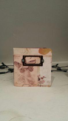 Cute mini journal in my Etsy store! PaperloversStudio on Etsy.com