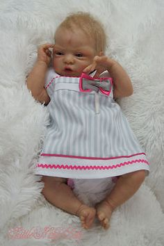 LNB~Reborn, Baby Girl ♥Esme New  Sculpt by Laura Lee Eagles♥  Vinyl Body , LE