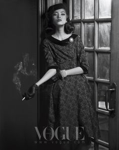 Memory Of New Look | Sun Feifei | Hong Lu #photography | Vogue Korea  July 2010