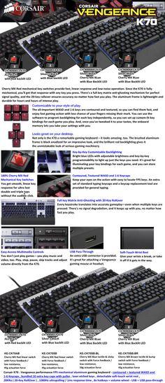 Corsair Vengeance K70 Keyboard