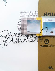 Sunkissed Summer by analogpaper at @Studio_Calico