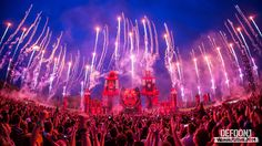 Defqon.1 - one of the most spectacular music festivals in the world. If I turn 18 this will be one of my best weekend trips ever