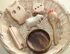 Counting Coconuts: Treasure Basket: Wood