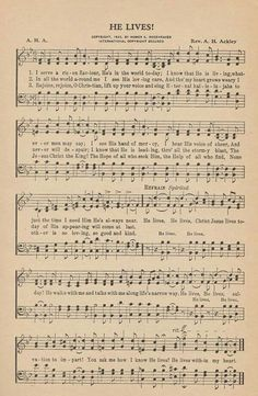 My all-time favorite hymn!