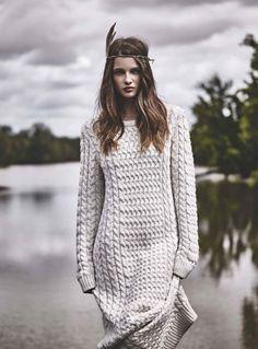 Douceur Boho' Georgina Howard for Cosmopolitan France October 2015