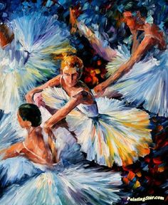 Before the performance Artwork by Leonid Afremov Hand-painted and Art Prints on canvas for sale,you can custom the size and frame