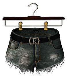 {Reverie} 'L.A. Woman' BFs Cutouts Vintage -black belt-