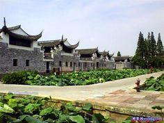 Ancient Chinese village Zoumatang, Ningbo, Zhejiang Province  #village