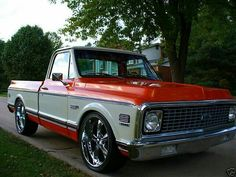 Classic. Chevy. Pick up