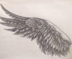 Resultado de imagen de wing tattoo unterarm