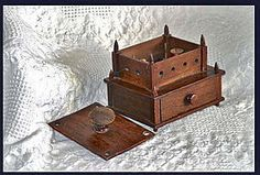 SIGNED & Dated Shaker Sewing Box Mary Presly 1875