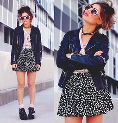 BAD TO THE BOW (by Bebe Zeva) http://lookbook.nu/look/4279673-BAD-TO-THE-BOW