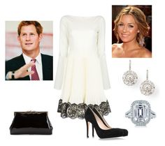 """""""Day 13: Watching a play at Neptune Theatre"""" by royal-fashion ❤ liked on Polyvore featuring Valentino, L.K.Bennett, Maria Canale, Lauren Conrad, Tiffany & Co. and THE GATHERING GODDESS VINTAGE"""