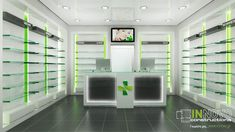 Pharmacy Architectural design & decoration in Agios Stefanos Shoe Store Design, Retail Store Design, Showroom Design, Shop Interior Design, Design Shop, Design Design, Boutique Interior, Mobile Shop Design, Pharmacy Store