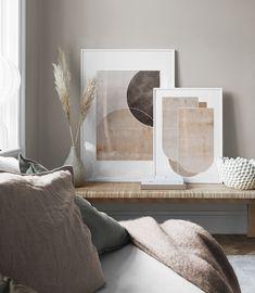 Inspiration pour murs et collages de tableaux | Suspension de tableaux