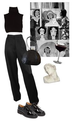 """""""poésie d'un soir"""" by eniramarine ❤ liked on Polyvore featuring Marc Jacobs, A.P.C. and House Parts"""