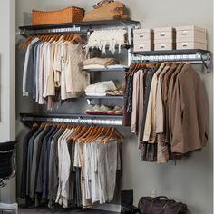 Found it at Wayfair - Arrange a Space Best Closet Shelving System I