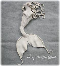 Polymer Clay Mermaid Tutorial https://www.youtube.com/watch?v=iD4jJ2R8sEY