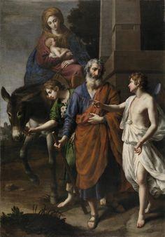 La Huida a Egipto/ Flight into Egypt //  1633 // ALESSANDRO TURCHI