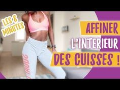 #GetSexy Affiner l'Intérieur des cuisses en 7 minutes | GEORGIA HORACKOVA - YouTube Fitness Tips, Health Fitness, Summer Body, Perfect Body, Workout Videos, Physique, Fat Burning, Pilates, Health And Beauty