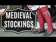 Wanna make stockings for your sexy 14-16th century kit? Wanna be lazy and not have to draft or drape them? YEAH, ME TOO! So join me and wrap your legs in duct-tape, it's the best!