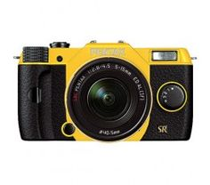 Pentax Q7 12.4MP Compact System Camera with 02 Standard Zoom 5-15mm f2.8-4.5 Lens (Yellow)