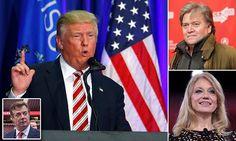 Trump shakes up his team hiring website boss as CEO