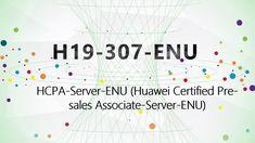 [H19-307 Passed] CertTree H19-307-ENU Huawei Certified Pre-sales Associa...