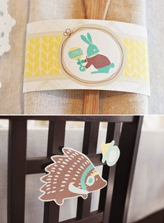 Winter Baby Shower (with adorable animals!)