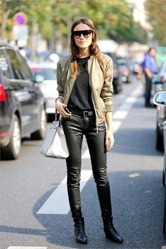 military chic streetstyle
