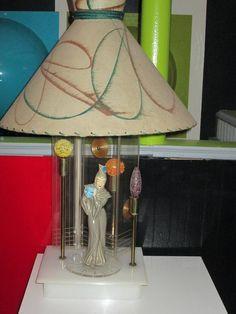Thelma Moss figural lamp