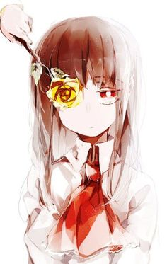 In and her flower. I wanna play this game again Rpg Maker, Ib Game, Game Art, Ib And Garry, Mad Father, Fanart, Rpg Horror Games, Witch House, Anime Oc